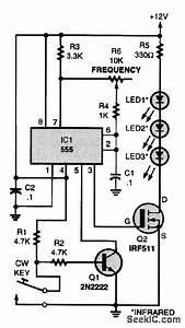 Infrared Code Practice Transmitter