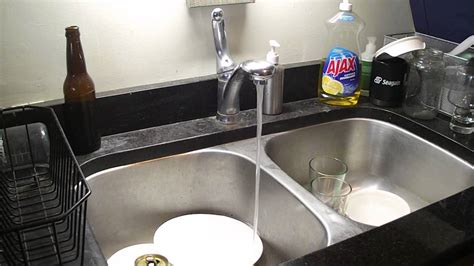 Kitchen Sink Stinks When Running Water by Reduction In Water Flow At Kitchen Sink Faucet After