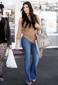 Kim Kardashian Casual Style