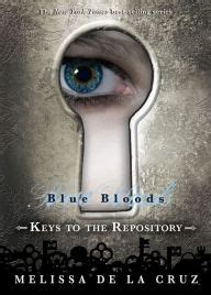 Keys To The Repository Blue Bloods Series By Melissa De
