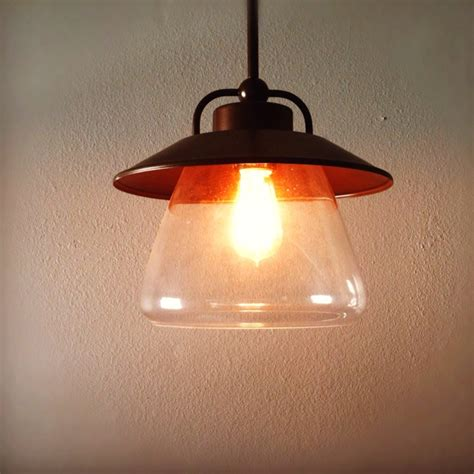 edison light from lowes for above kitchen table lighting