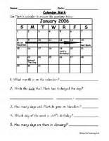 common sight words for kindergarten calendar worksheets teaching