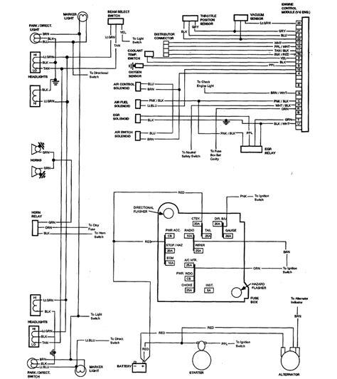 1965 Chevy El Camino Wiring Diagram by 1981 Chevrolet El Camino Wiring Diagram Part 1 61812