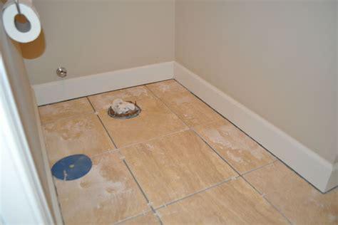 How To Install Bathroom Floor Tile  Wood Floors