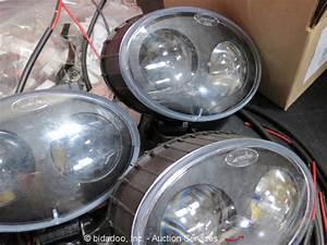 Lot  31  Linde 770b 48v Led Blue Spot Lamp Forklift