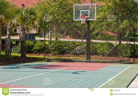 terrain de basket ext 233 rieur photo libre de droits image 19735075