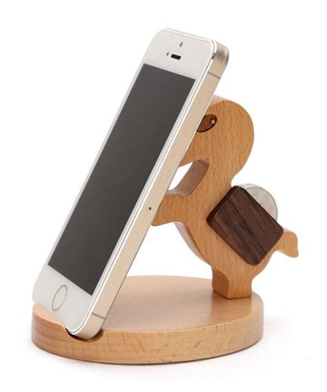 phone stand wooden phone stand desktop phone holder phone