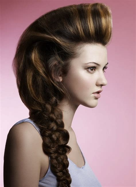 unique hairstyles for long hair