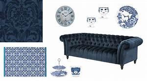 Schöner Wohnen Farbe Blau : farbe blau bei der raumgestaltung als wandfarbe richtig nutzen dh raumdesign ~ Frokenaadalensverden.com Haus und Dekorationen