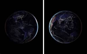 NASA's New Photos of Earth Lit up at Night Will Take Your ...