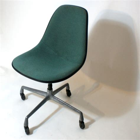 vintage herman miller fabric fiberglass side chair ebay