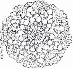 Image Result For Crochet Doily Charts