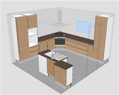 cuisine ikea tidaholm cuisine ikea tidaholm réalisation caisson angle pour