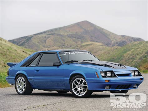 1986 Ford Mustang Gt Triple Tribute Photo Image Gallery