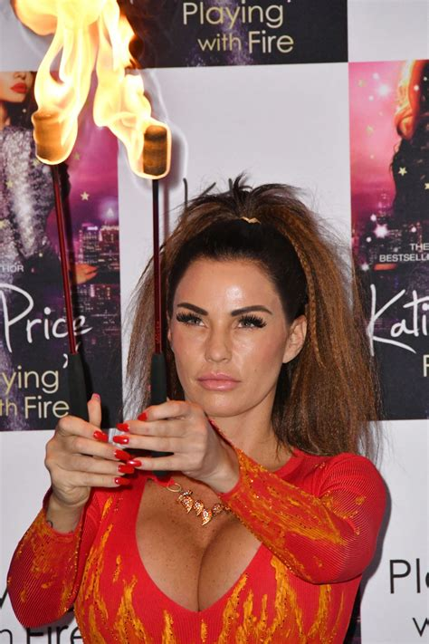 She is an actress, known for sharknado 5: KATIE PRICE Fire Breathing at Her New Book Playing with Fire Photocall in London 01/17/2017 ...