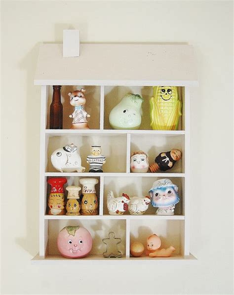 kitsch kitchen accessories shadow box shelves box shelves and house on 3582