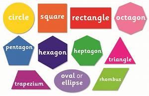 Set Of 11 2d Shape Signs