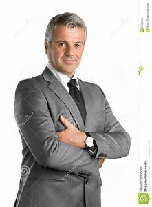Satisfied Business Man Stock Image