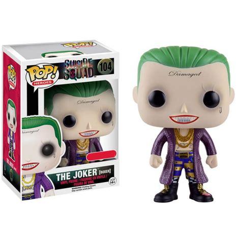 bureau des licences figurine pop squad joker boxer exclusive