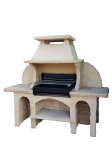cuisine d été en reconstituée barbecue fixe palerme