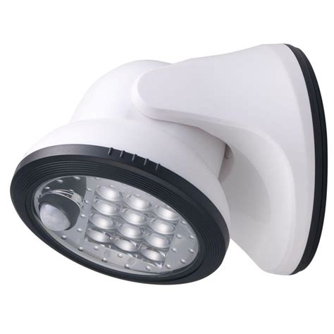 motion activated porch light light it white 12 led wireless motion activated