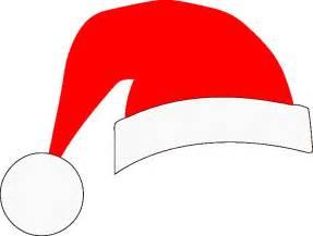 bows and santa hats on santa hat christmas photo cliparts