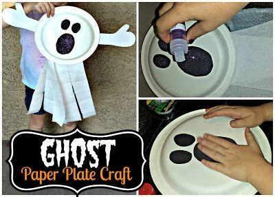 paper plate ghost crafts paper plate crafts and on 2636