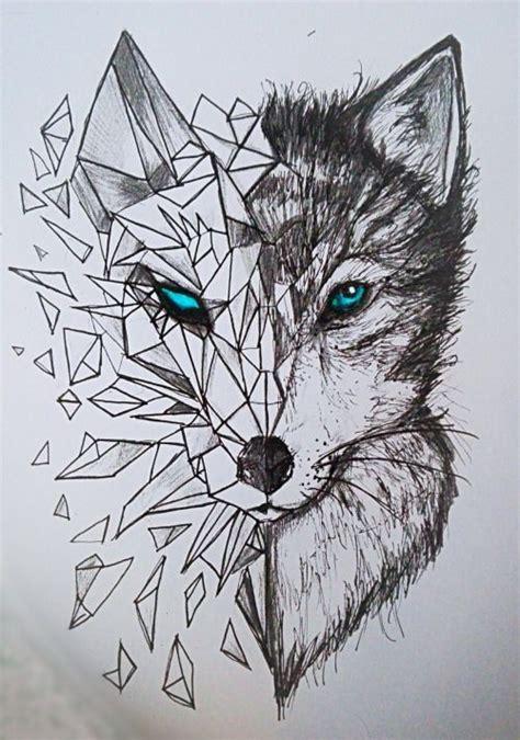 nice geometric tattoo geometric wolf tattoos yandex