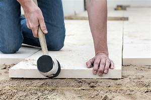 Polygonalplatten Auf Beton Verlegen : terrassenplatten richtig auf beton verlegen www ~ Lizthompson.info Haus und Dekorationen
