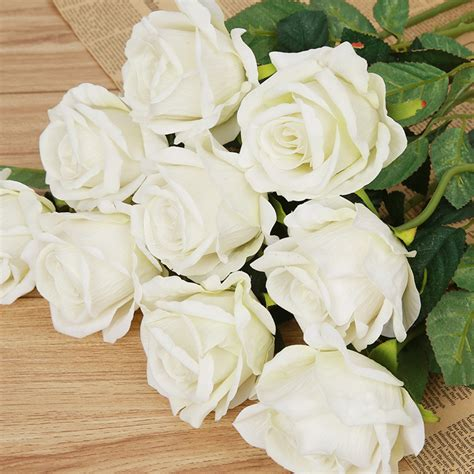 nep bloem rood online kopen wholesale rode nep rozen uit china rode nep