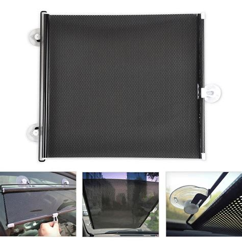 auto retractable car curtain side window car sun shade