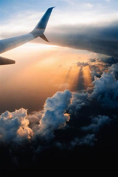 Travel Wallpapers Unsplash Airplane Sky