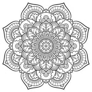 Printable Adult Mandala Coloring Pages
