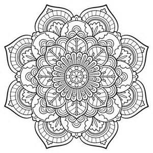 Printable Adult Mandala Coloring Pages