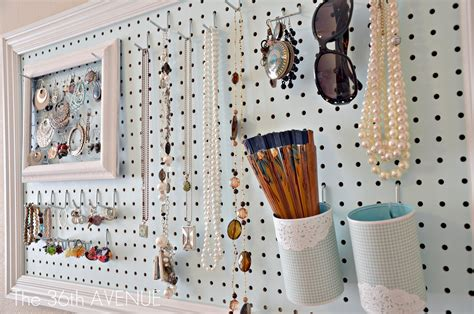 Peg Board And Accessories Station  The 36th Avenue