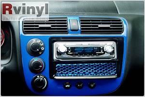 Dash Kit Decal Auto Interior Trim For Honda Civic 2001