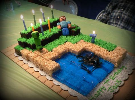 minecraft birthday cake decorations minecraft cake birthday ideas