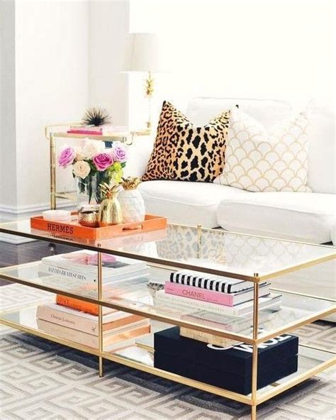 Glass top shelf, mirrored bottom shelf. #Accent #coffee #coffeetable #elm #living #Room #table #Tables #Terrace #west #Coffee #Table… in ...