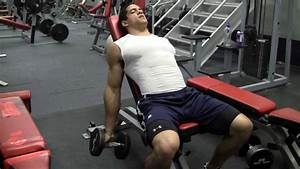 Javier Garza U0026 39 S Beginner Bodybuilding Workout  Training Shoulders  Chest  Back And Arms