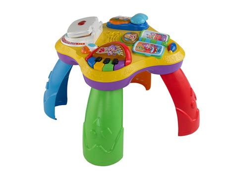fisher price activity table laugh learn puppy friends learning table