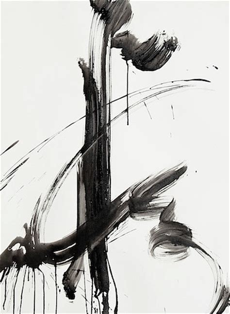 Abstract Black Ink by Kiến Tr 250 C Việt Architecture Ink Painting Tranh