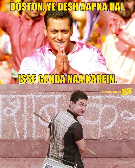 Aamir Khan Memes - these memes explain how aamir khan confused bajrangi bhaijaan with satyamev jayate