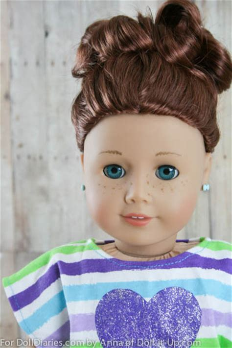 A Hairstyle with Fun Details from Every Side   Doll Diaries