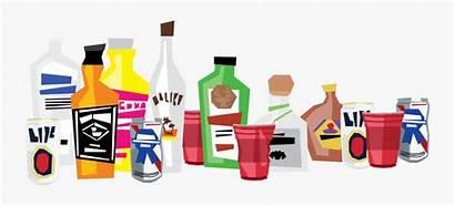 Alcohol Clipart Clip Liquor Drink Transparent Clipartkey
