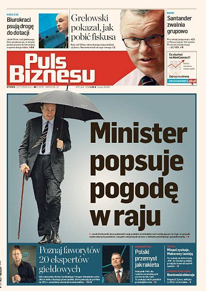 puls biznesu polish business newspaper art director tomasz