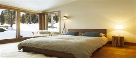 chambre taupe  couleur lin idees deco ambiance zen