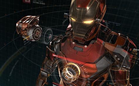 Download Wallpapers Iron Man, 4k, Superheroes, Digital Art