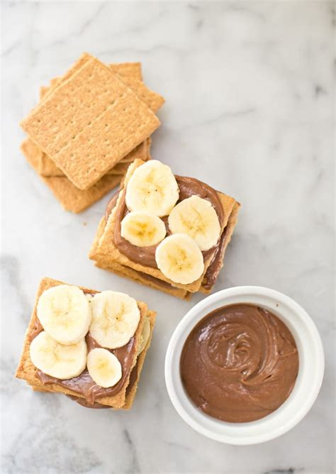 easy graham cracker banana chocolate cake