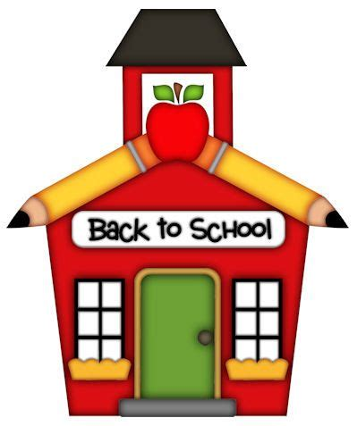 School Clipart School House Clip Clipartion