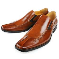 Brown Leather Men's Dress Shoes